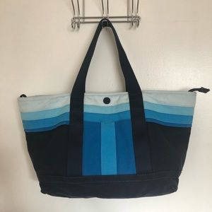 Authentic Tory Burch Canvas Tote